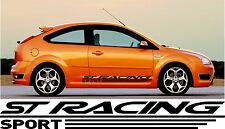 FORD FOCUS ST SIDE Graphic x2 Racing Vinyl Sponsor Decal