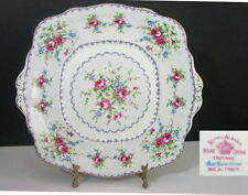 "Royal Albert PETIT POINT 10"" Handled Cake Plate"