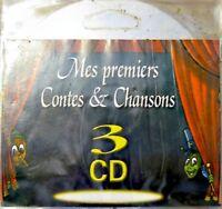CONTES & CHANSONS sirene/bois dormant/poucet 3 CD EX++