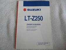2004 2005 Suzuki LT-Z250 Owners Manual LT Z 250