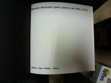 Kunst Grafiken Von 1963 AL 1973, Marcello Morandini. 1a Ediz. Kopie nummeriert