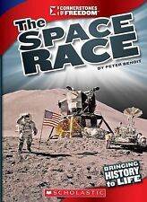 NEW The Space Race (Cornerstones of Freedom: Third (Library)) by Peter Benoit