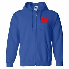 Heckler and Koch Red Logo Zip Up Hoodie 2nd Amendment Pro Gun Rights Pistol New