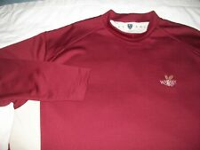 Nike Golf - Fit Dry Waffle Weave Long Sleeve Golf Shirt - Mens Size Xl - Whiskey