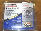 Certified Appliance Model 77515 6ft Stainless Steel Steam Dryer Installation Kit photo