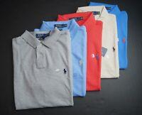 POLO RALPH LAUREN Men's Custom Slim Fit Mesh Cotton Polo Shirt NEW NWT