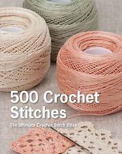 650 CROCHET STITCHES - ERIKA KNIGHT (HARDCOVER) NEW