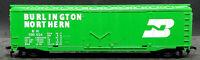 TYCO Burlington Northern BN 100024 GREEN Box Car.  HO SCALE. VINTAGE