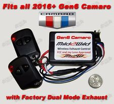 2016 - 2018 Gen 6 Camaro NPP Mild to Wild Exhaust Control - FREE Shipping