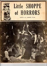 WoW! Little Shoppe Of Horrors #1 Curse Of Frankenstein! Plague Of The Zombies!