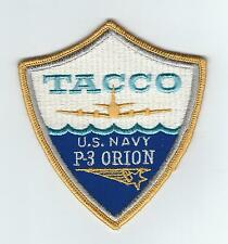 70s-80s USN P-3 ORION TACCO patch