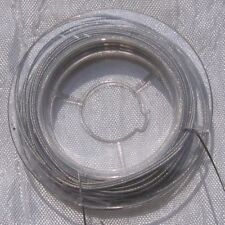 10 mètres environs de fil acier inoxydable type queue de tigre 0.45mm *C194