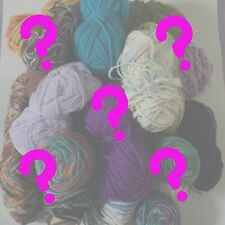 MIXED LOT OF YARN- 10 Skein Partial and Full Lot