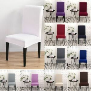Wedding Supplies Stretch Kitchen & Dining Slipcovers Chair Cover Chair Case