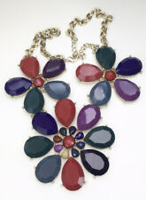 """Flower Statment Necklace, Bold, Nordstrom Style, 24"""""""