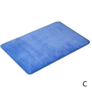 Absorbent Memory Foam Carpet Bath Bathroom Bedroom Shower Mat Floor Rug Non 2021