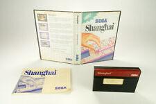Sega Master System *Shanghai* OVP mit Anleitung