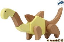 "Pie Pequeño 16 Pieza 3D Kit creativo de madera dinosaurio ""Brockie"" Jigsaw Puzzle De Juguete"
