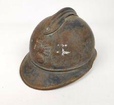 Casque Adrian Modèle 1915 Infanterie Poilu Ww1 14 18 FFI Maquis Ww2