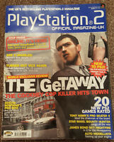 OFFICIAL UK PLAYSTATION 2 MAGAZINE ISSUE NO.28--THE GETAWAY COVER