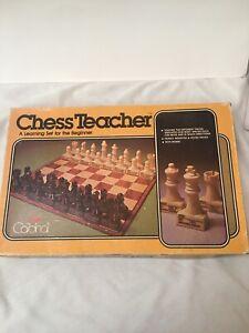 CHESS TEACHER by CARDINAL 1979 LEARNING BEGINNER GAME VTG. MISSING INSTRUCTIONS