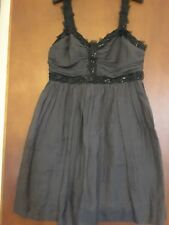 French Connection cocktail dress . Grey size 12 lovely