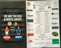 ACCRINGTON STANLEY V SUNDERLAND CARABAO CUP 2019/20 WITH TEAMSHEET
