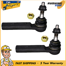 2 Premium Outer Tie Rod End Pair For Cadillac Escalade Chevrolet Tahoe GMC Yukon