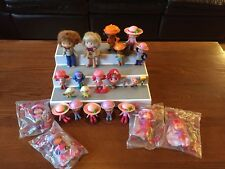 Lot Of 24 Strawberry Shortcake Figures Cake Toppers Dolls Collectibles