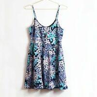 NEW Somedays Lovin Floral Print Spaghetti Strap Mini Dress Size S Retail $80