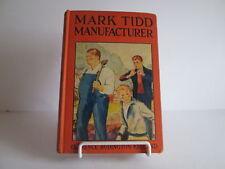1934 Mark Tidd Manufacturer Orange HB with Decorative Cover ~ NICE Illustrated