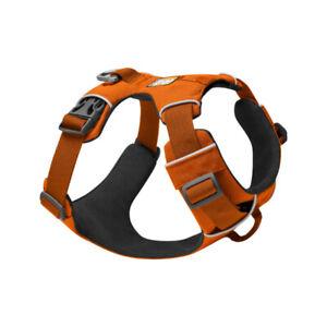 Dog Harness | Ruffwear Front Range | No Pull | Padded | Puppy Training | Orange