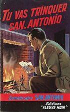 RARE EO 1958 SAN ANTONIO + SPÉCIAL POLICE N° 157 : TU VAS TRINQUER SAN-ANTONIO