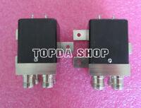 1PC TN1A4 DC-12.4GHz N 28V 200W DPDT RF coaxial switch