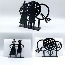 Bengt & Lotta Metal Figures Napkin   Paper Holder Made In Sweden