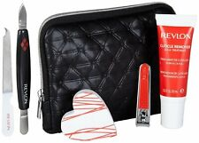 Revlon Beauty Tools Manicure Kit With Cuticle Remover And Travel Case!!