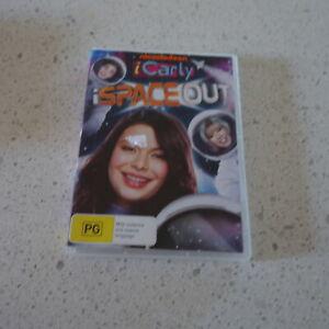 Nickelodeon iCarly iSpaceout DVD Video Miranda Cosgrove Nathan Kress TEEN Sitcom