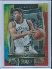 2016-17 Select Tie Dye RC Rookie Wade Baldwin IV /25