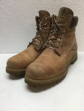 """N38 Timberland 6"""" Premium Wheat Leather Waterproof Boots Mens Size 8 M"""