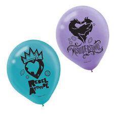 "6 x 12"" Disney Descendants 2 Latex Birthday Party Balloons"