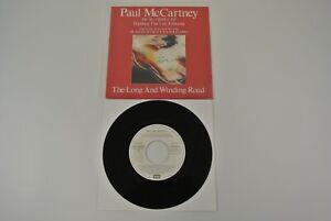 "Paul McCartney Long and Winding Road 7"" 45 rpm Vinyl Record 1990 Spain EX"