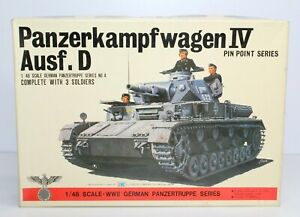 Bandai Panzerkampfwagen IV Ausf. D 1/48 Scale Plastic Model Kit 8224 New OB