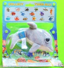 DOLPHIN (#68393) Seapals by Russ Plush Finger Puppet w/ Secret Web Codes NIP