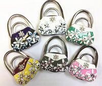 Floral Bag Look Hook Metal Foldable Bag Purse Hook Bag Hanger/Purse Hook/Handbag