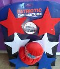 "17"" Car costume Patriotic 4th of July decoration Stars Hat USA"