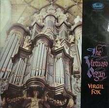 Virgil Fox(Vinyl LP)The Virtuoso Organ-US- P 8499-Capitol-Ex/Ex