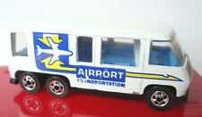 1983  HOT WHEELS  GMC  MOTOR  HOME  AIRPORT  TRANSPORTATION  FRANCE