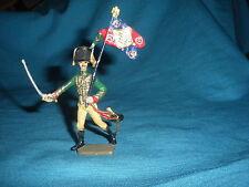 475A Starlux Atlas Figurine Plomb Empire Porte Etendard Drapeau 1/32 Napoleon