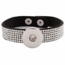 Black Magnolia Vine Jewelry 18mm Button Fits Ginger Snap Ginger Snaps Bracelet