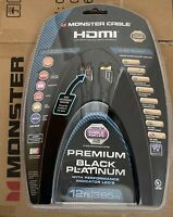 Monster UltraHD Premium Black Platinum Ultimate 4K HDMI Cable 12ft / 3.65m